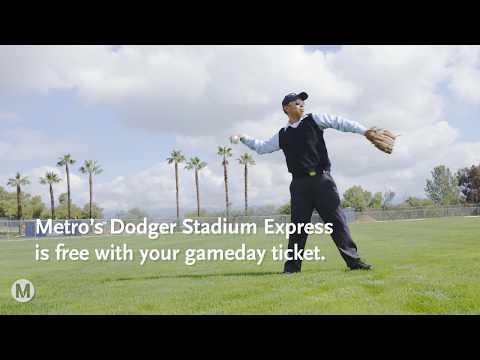 Dodger Stadium Express is back!