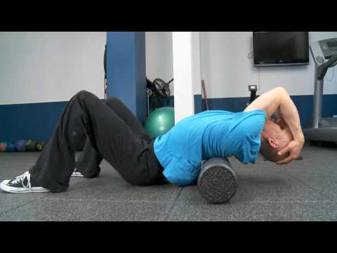 Thoracic Spine Mobilizations with Foam Roller