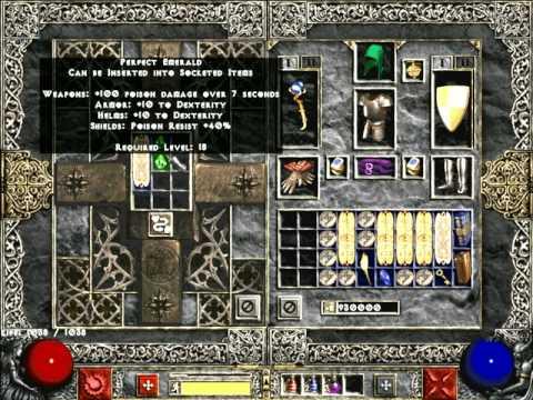 Diablo 2 - Re-rolling Skill Charms