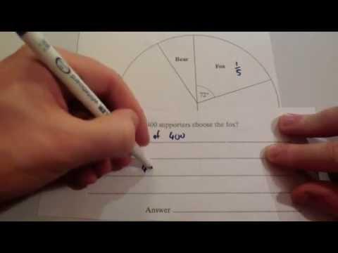 Interpreting Pie Charts - Corbettmaths