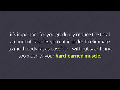 How Many Calories Should You Cut to Lose Fat Without Losing Muscle?
