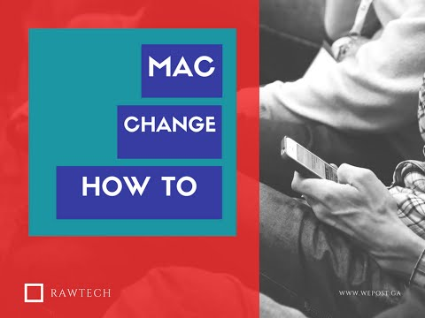 How to change MAC address in Windows 10 PC/LAPTOP !