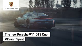 It takes a team to achieve a dream. The new 911 GT3 Cup.