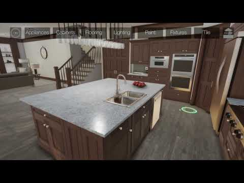 3D Online Kitchen Design and Visualization