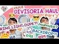 HUGE DIVISORIA HAUL PART 2 | Ringlight DUPE?! MUMUSO?! Mae Layug 🦄💁