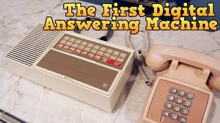 The first all-digital answering machine, the Telstar Call Control System.