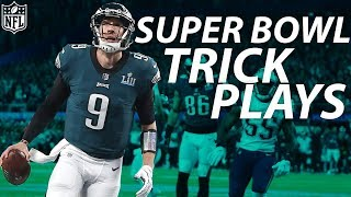 Every Successful Trick Play in Super Bowl History | NFL Highlights