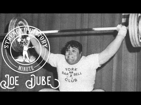 Joe Dube   Strength History Minute