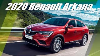 New Renault Arkana 2020 Production-spec Coupe-SUV Unveiled
