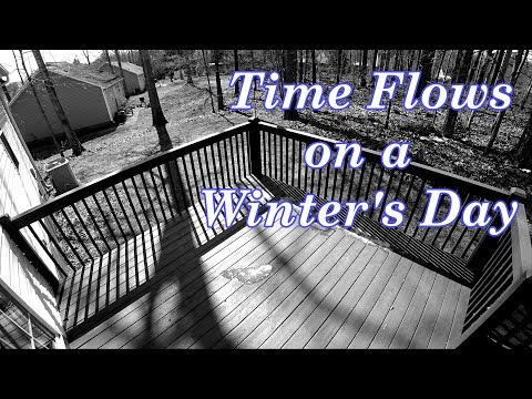 Shadows On a Late Winter's Day - Time Lapse