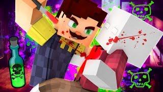 HELLO NEIGHBOR - HIS DEEPEST DARKEST SECRET!!! (Minecraft Roleplay)