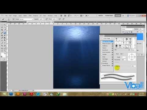 Photoshop CS5, Water Bubble Effect, Amharic Tutorial by Ras Fitsum Solomon