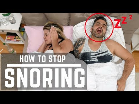 How To Stop Snoring with Naturally and Simple For Your Health, Study Finds |  sleep apnea