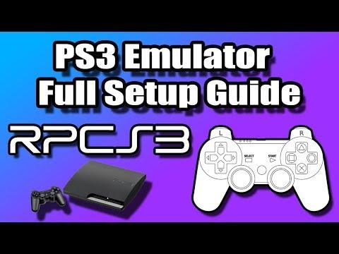 RPCS3 - PS3 Emulator Full Setup Guide For Windows
