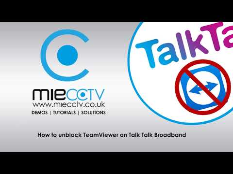 Unblock Teamviewer when your ISP is Talk Talk