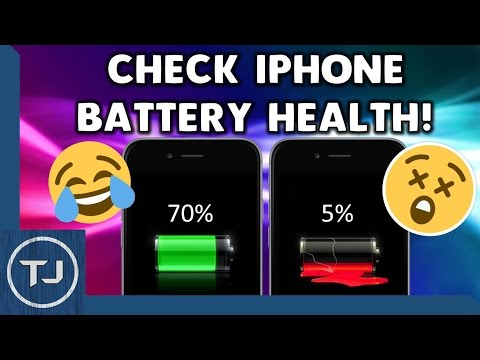 Check Your iPhone/iPad/iPod Battery Health! [iOS 11] 2017!