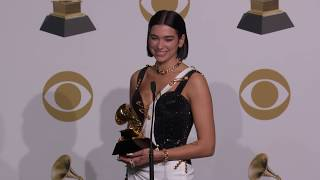 Dua Lipa TV/Radio Room Interview | 2019 GRAMMYs