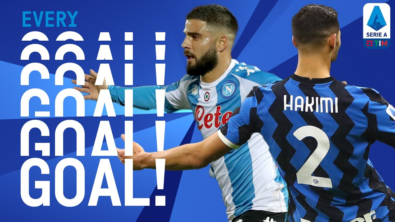 Hakimi bags a brace and Insigne scores a BEAUTY! | EVERY Goal | Round 10 | Serie A TIM