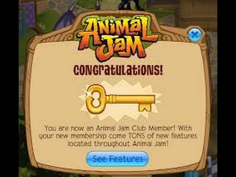 Animal Jam gem codes, membership code,diamond code, and more!