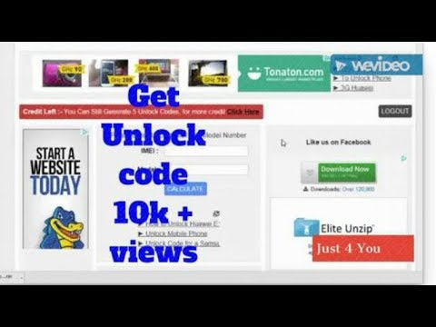 How to get unlock code for huawei pocket router free
