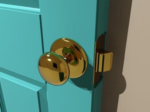 3dsMax Door - 6 Panel - Easy method