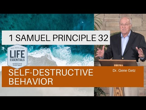 1 Samuel #32: Self-destructive Behavior