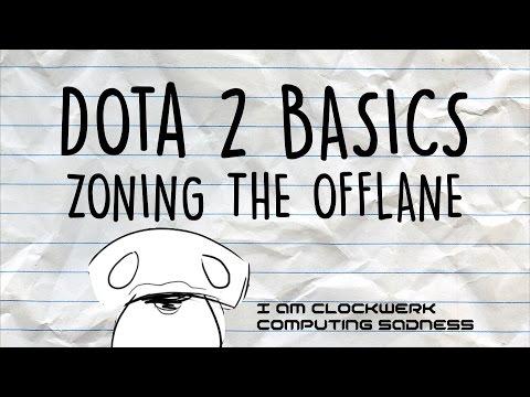 Dota 2 Basics | Zoning the offlane