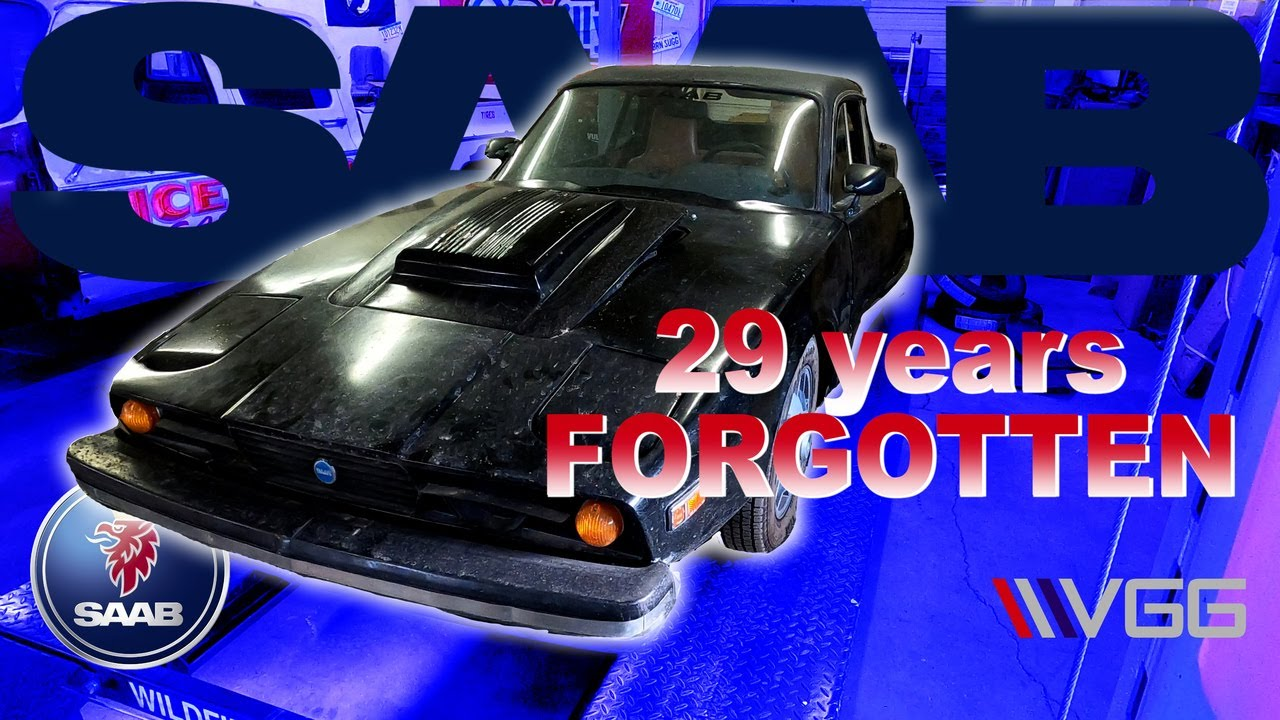 FORGOTTEN 1974 SAAB Sonett III - Will It RUN AND DRIVE after 29 Years?