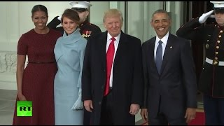 Inauguration 2017 LIVE: Trump sworn into office, clashes break out in Washington DC