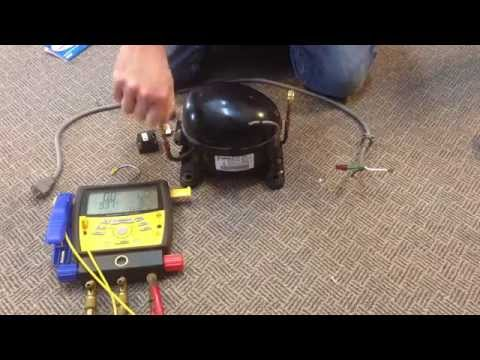 How To Make a Vacuum Pump from Old Compressor