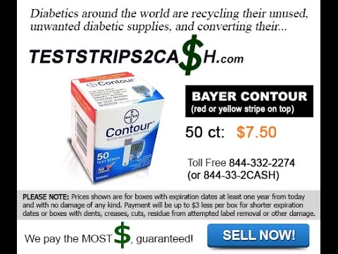 Bayer Contour 50ct (red or yellow stripe on top) | Toll Free 844-332-2274 (or 844-33-2CASH)