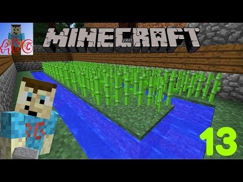 Minecraft Let's Play Part 13   Sugarcane Farm