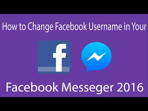 Facebook - How to Change My URL/Username in Facebook Messenger - 2016