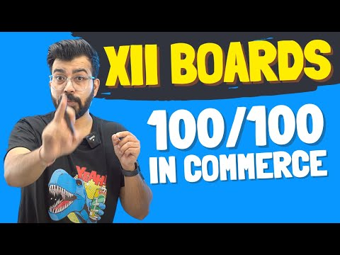 Do you really want to Score in 12th boards?? Commerce Baba