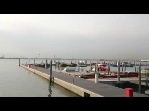 Motorhome Aire Venice Cruise Port. Pay parking to the rear of the cruise terminal Venice