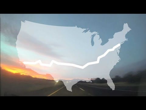 An Easy Five-Minute Time-Lapse Road Trip Across the Entire United States
