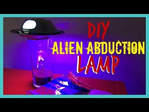 DIY Alien Abduction Lamp
