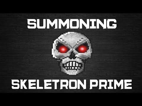 Terraria: How to Summon Skeletron Prime: Mechanical Skull [1.2.0.3]