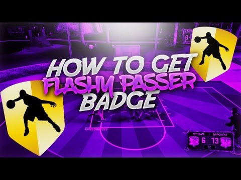 FASTEST WAY TO GET FLASHY PASSER HALL OF FAME - NBA 2K17