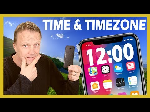 Change Time and Time Zone on iPhone