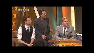 The Avengers besetzen das TV total Studio! - TV total