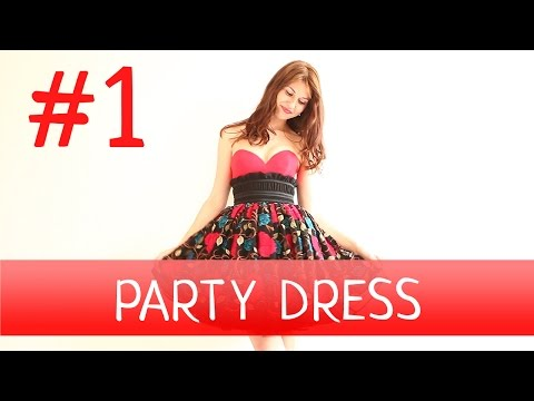 How to make a Party Dress? #1 Dressmaking