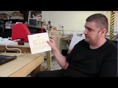 How to use the vinyl cutter
