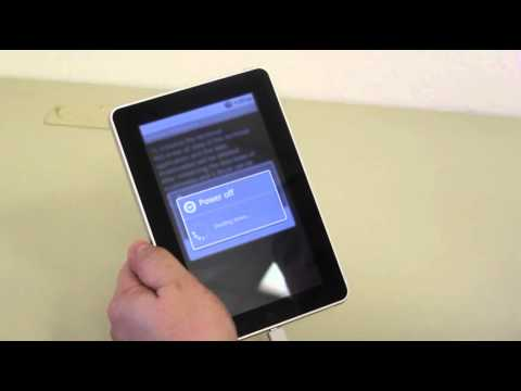 How to update the firmware for the Identity Tablet