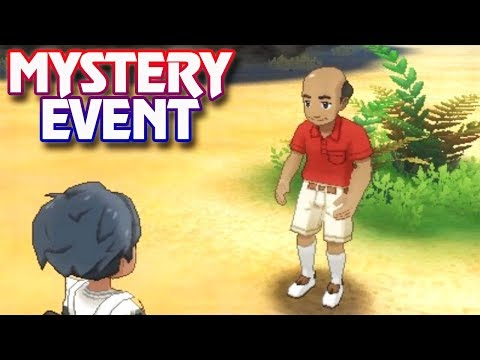 Pokemon Ultra Sun and Ultra Moon - Mystery Event (Part 2)