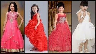 ec33bd39f4d9 Latest Baby Gown Dresses Buy Online // Kids Princess Style Frocks//Kids  Party