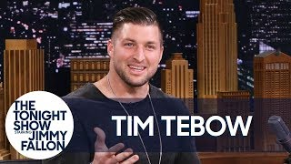 Tim Tebow Discusses the Elaborate Way He Proposed and His