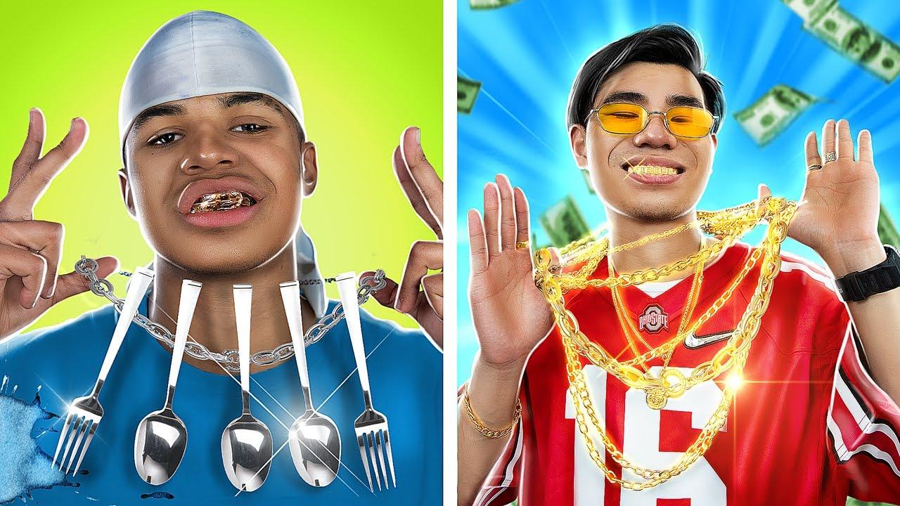 Rich Rapper vs Poor Rapper