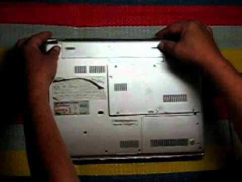 Sony Vaio CR320E Dismantle 1/8