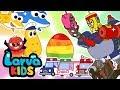 SURPRISE EGGS COMPILATION EGG SONGS SUPER BEST SONGS FOR KIDS LARVA KIDS